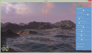 Ocean TerrainIn in KlayGE 4.3